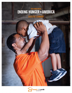 2014 Hunger Report, Ending Hunger in America (cover)